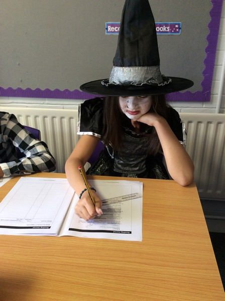 The Grand High Witch working in Y6