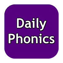 Daily Phonics Logo purple